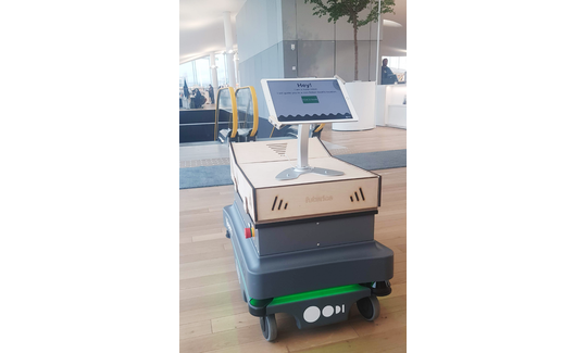 The team at Futurice designed and built a social library robot